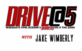 The Zone's Drive @5 with Jake Wimberly